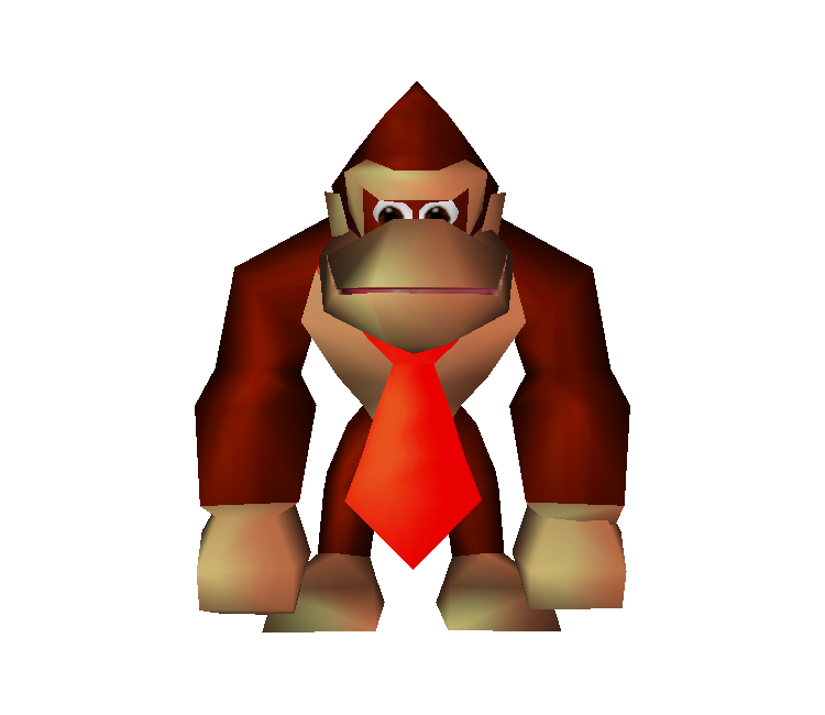 Donkey kong 64 png. Nintendo multiplayer the download