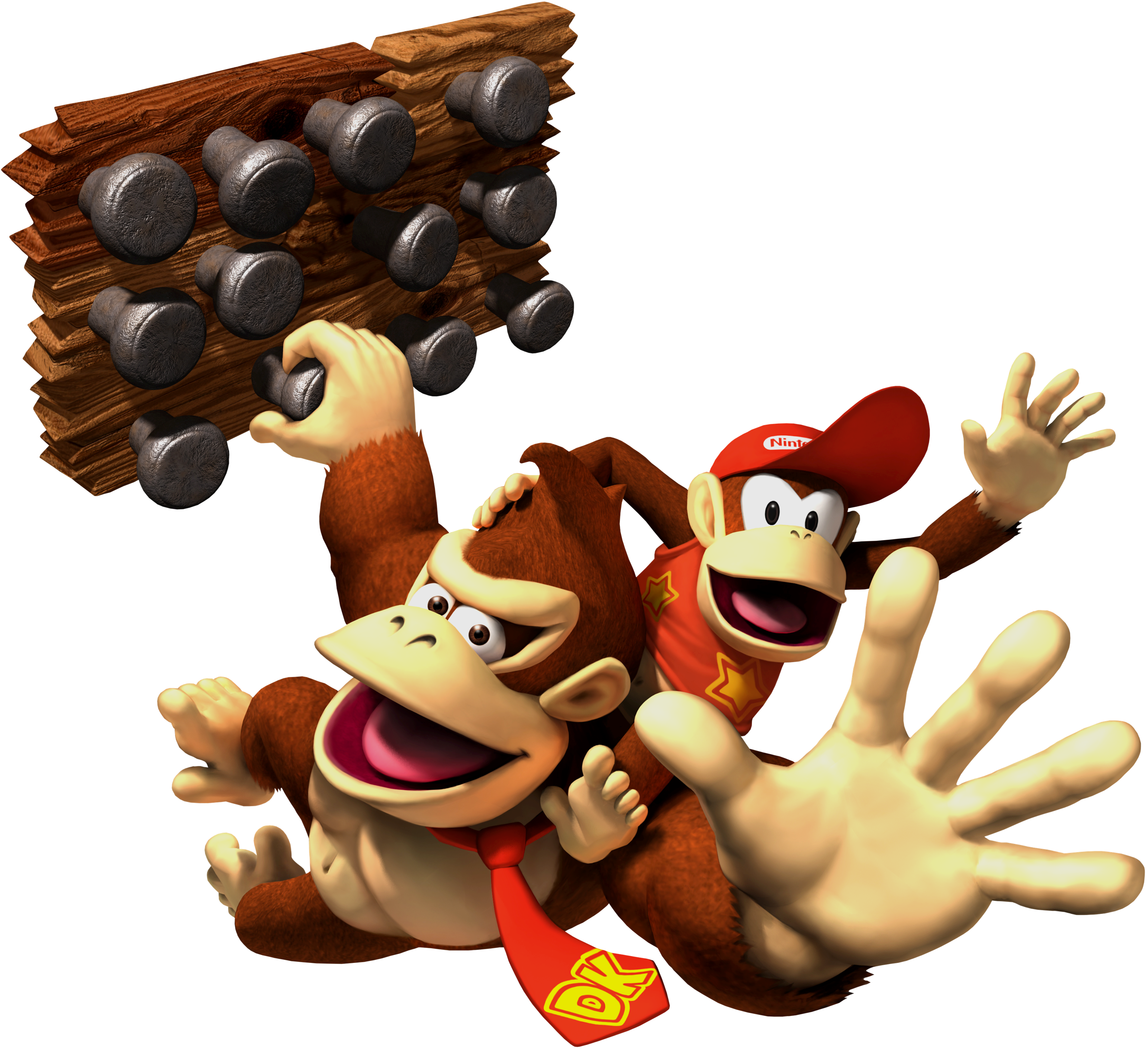 Donkey kong and diddy kong png. Dk vine s biography