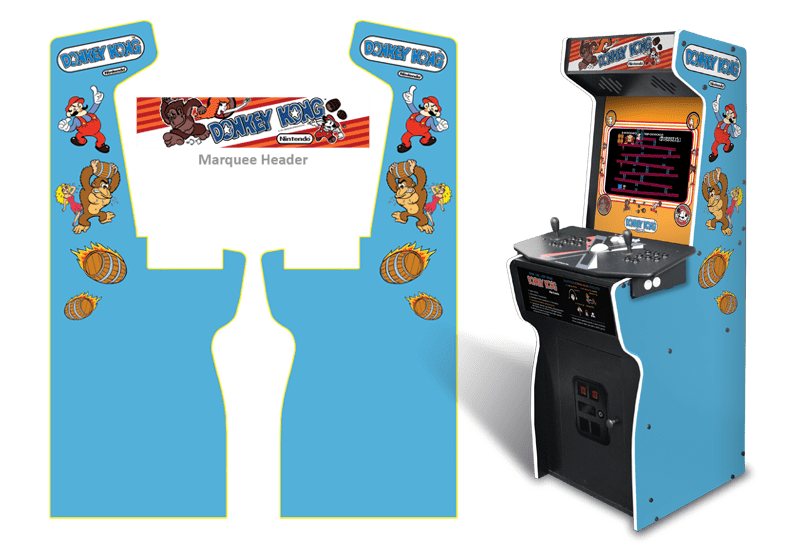 Donkey kong arcade png. Customer submitted custom permanent