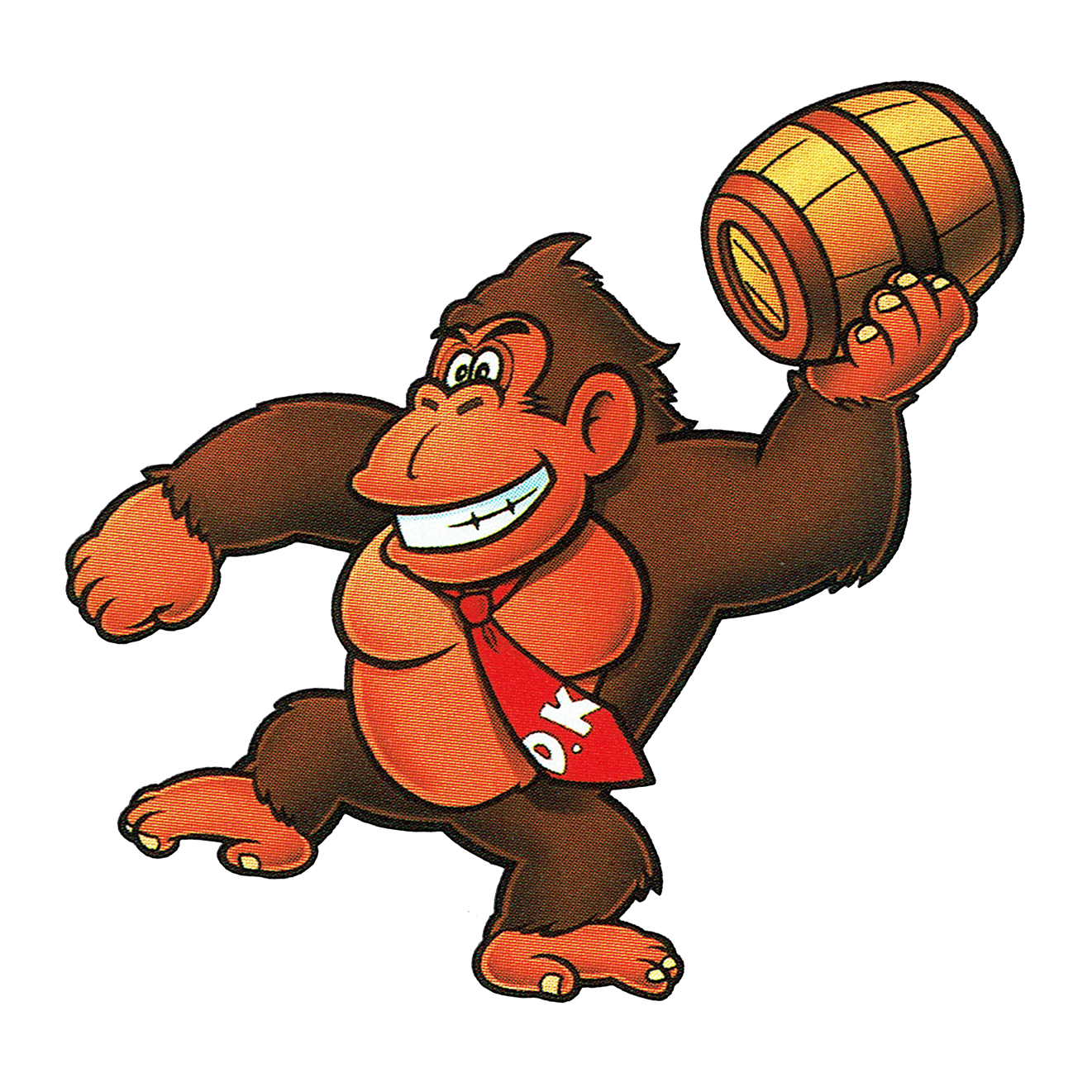 Donkey kong arcade png. Artwork for the video