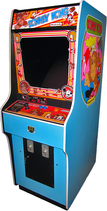 Donkey kong arcade png. Cabinet for an video