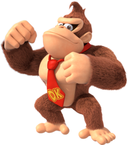 Donkey kong confused gif png. Super mario wiki the
