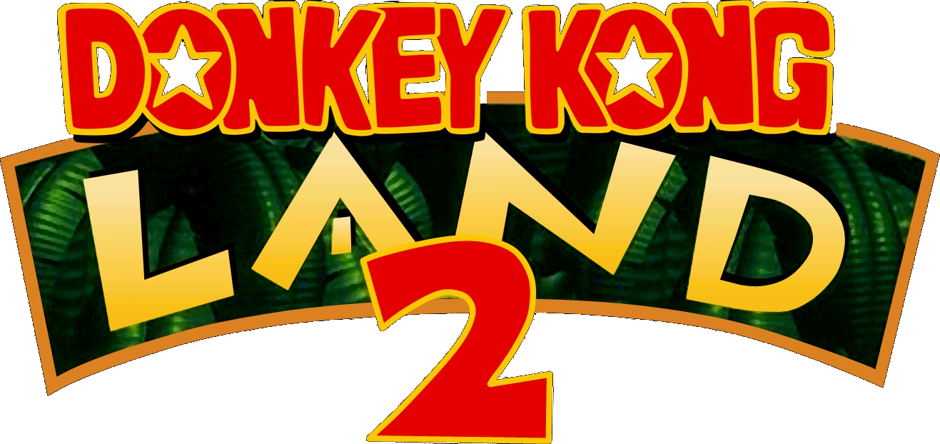 donkey kong country title png