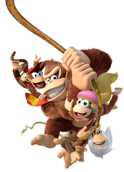 Donkey kong country logo png. Tropical freeze video games
