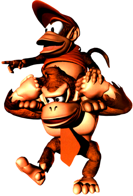 donkey kong country show png