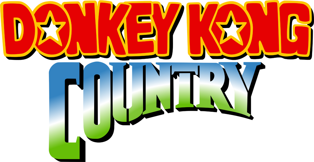 donkey kong country logo png