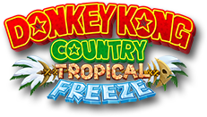 Donkey kong country logo png. Tropical freeze for the