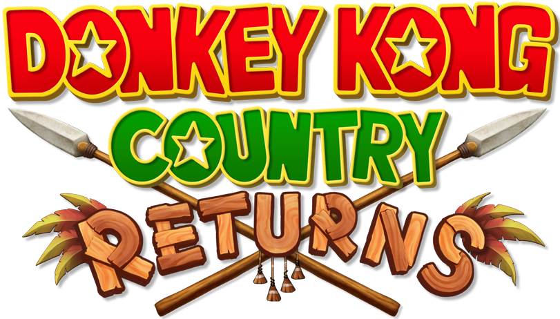 donkey kong country returns logo png