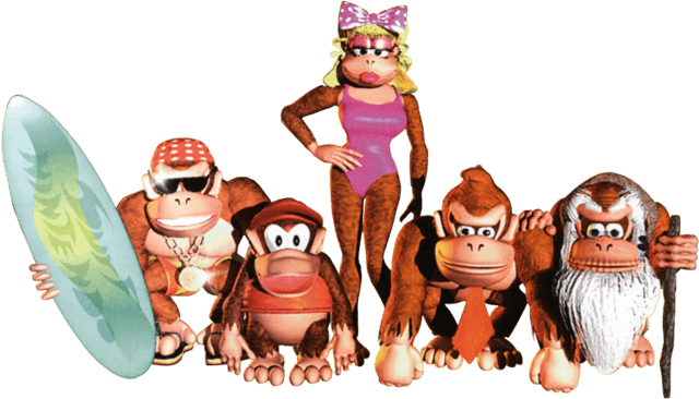 Donkey kong country show png. Nxpress nintendo podcast switch