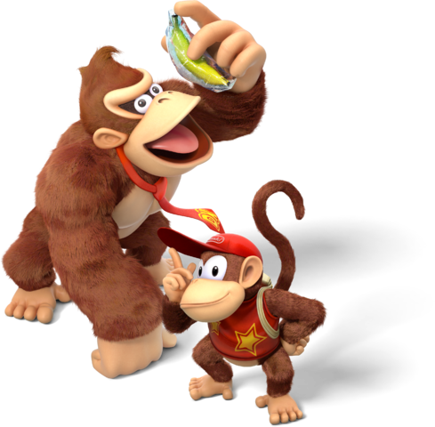 Donkey kong and diddy kong png. Image country tropical filedonkey