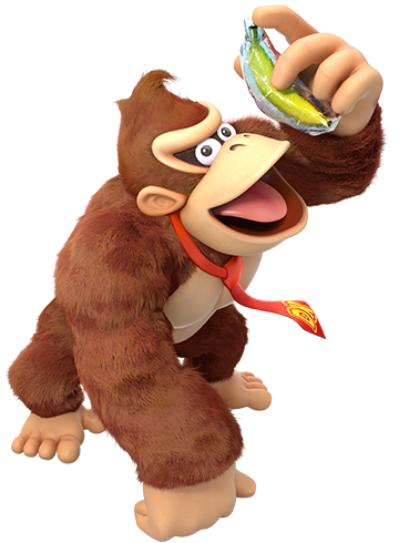 Donkey kong country tropical freeze family png. For wii u nintendo