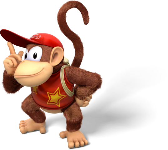 Donkey kong country tropical freeze png. Image diddy artwork filediddy