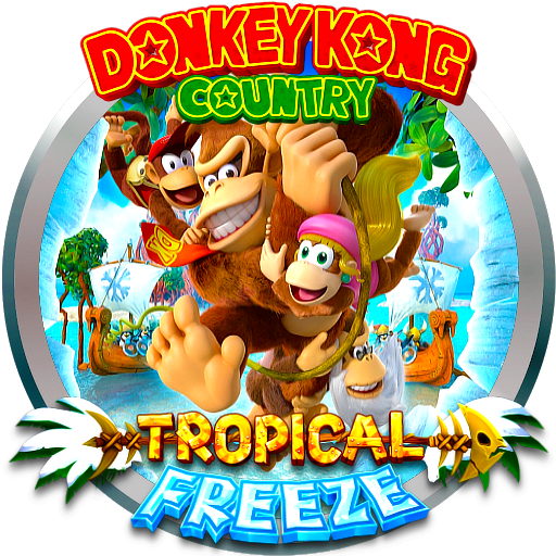 Donkey kong country tropical freeze png. Nintendo switch platformer