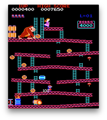Donkey kong level png. Remix review just over