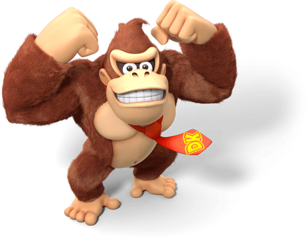 Donkey kong tie png. Mariowiki fandom powered by