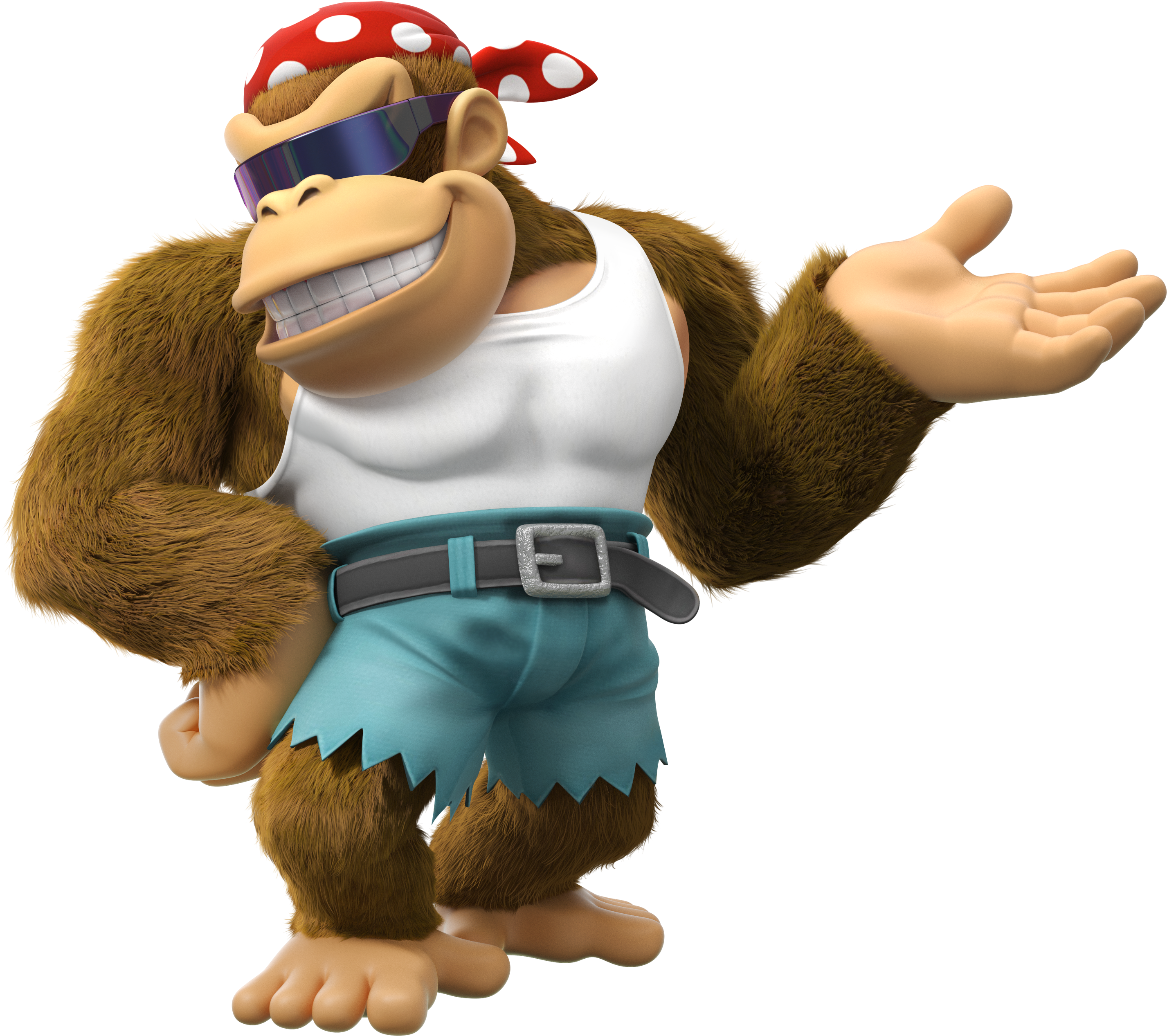 Donkey kong tropical freeze dk png. Image funky artwork country