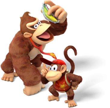 Donkey kong and diddy kong png. Wiki the database country
