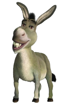Donkey png. Image new the parody