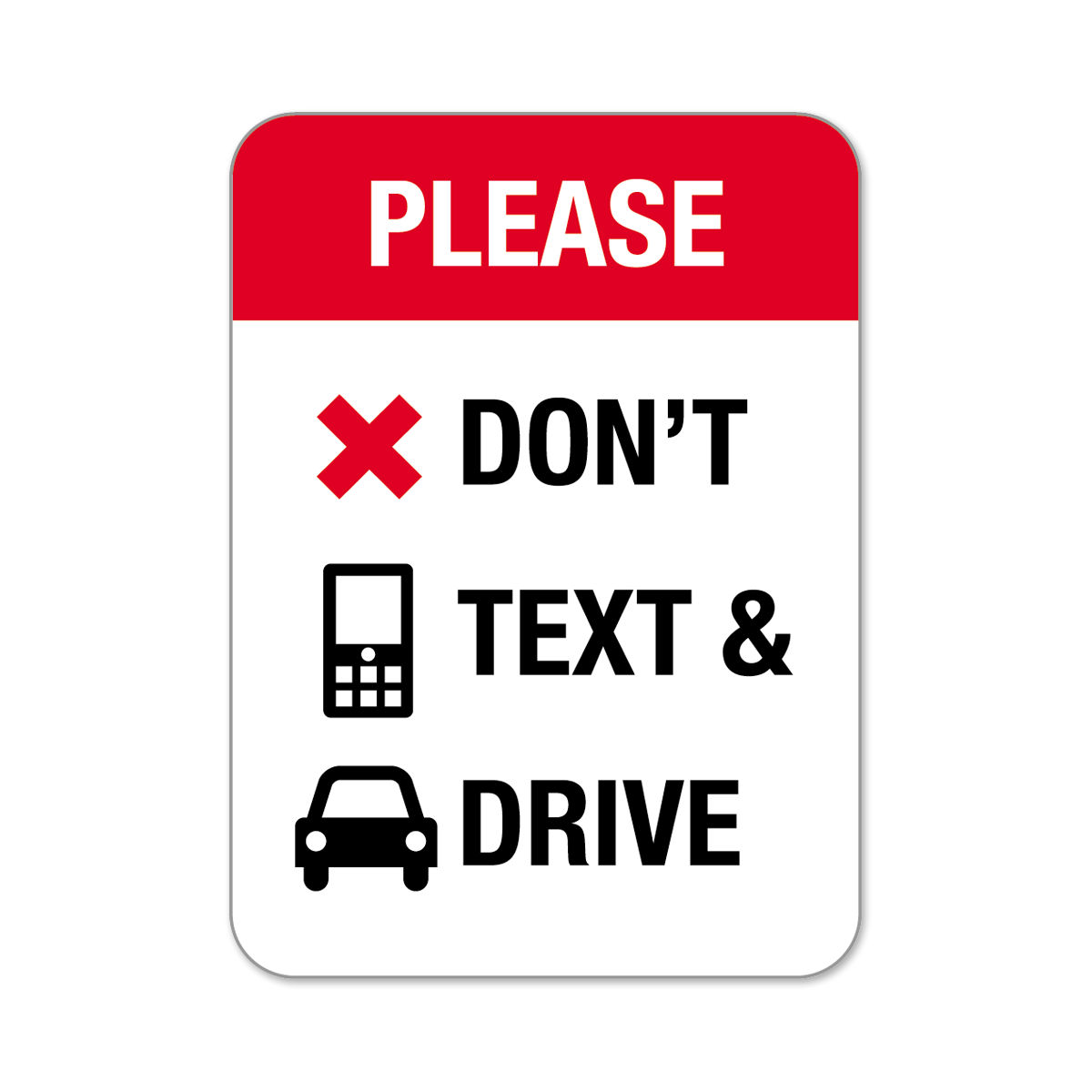 dont text and drive png