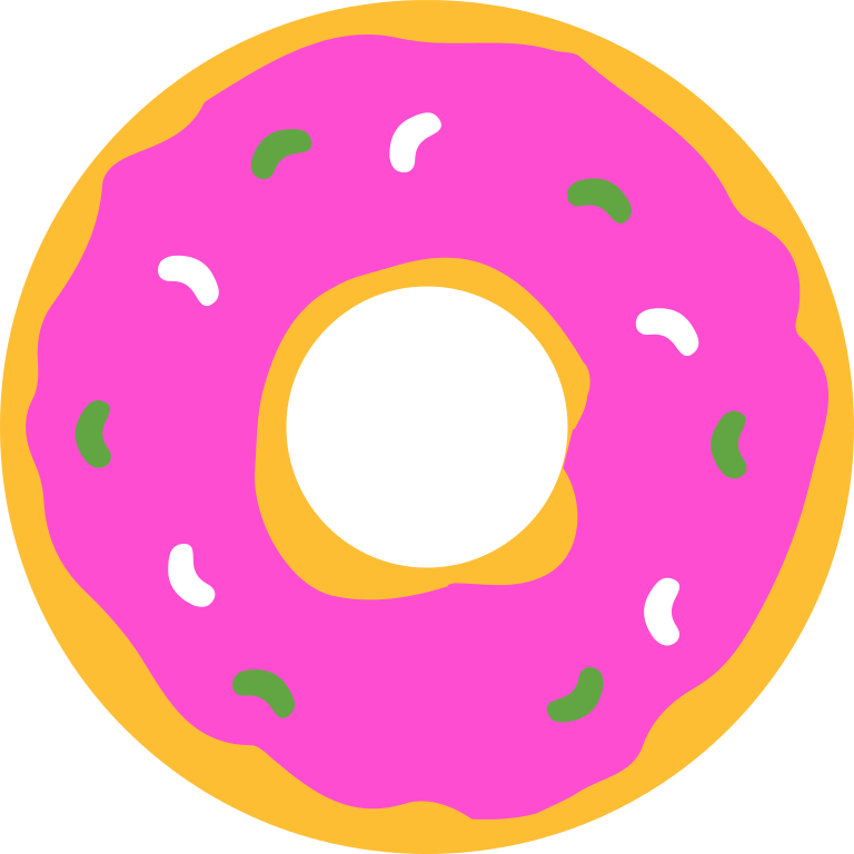 Donuts vector doodle. Donut clipart png clip