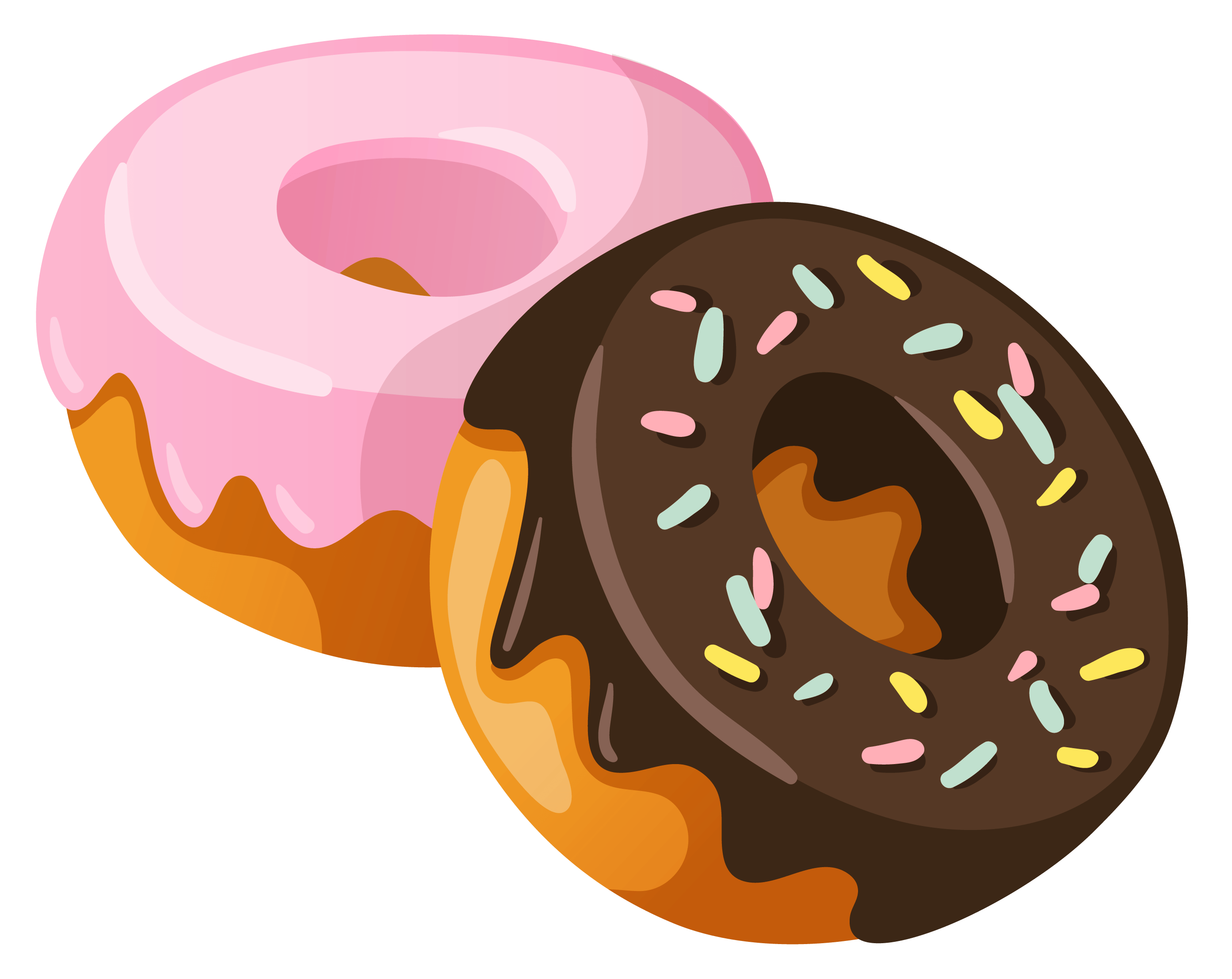 Donut clipart round object. Donuts mssu graphic design