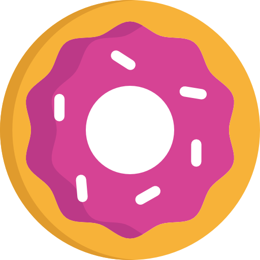 Donut icon png.