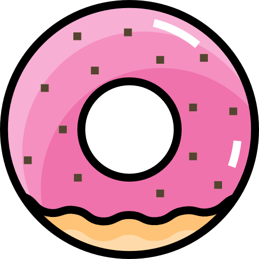 Donut icon png. Free food icons