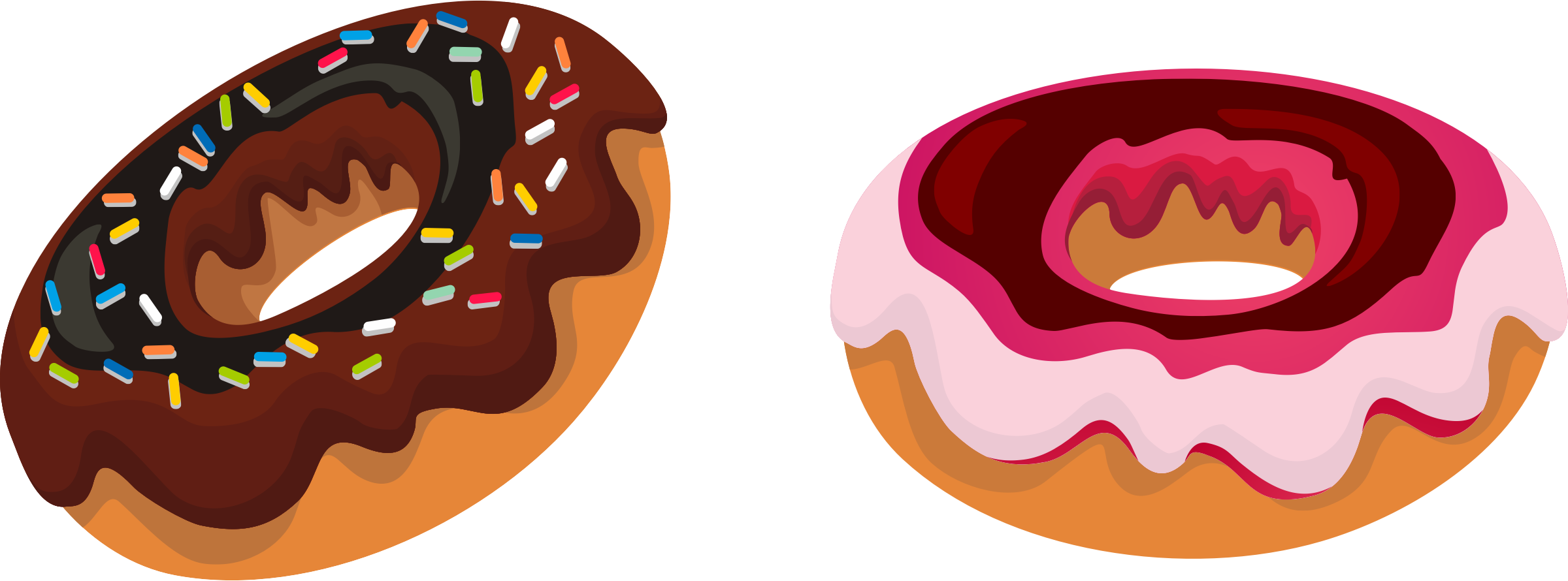 Donut png clipart. Collection of high