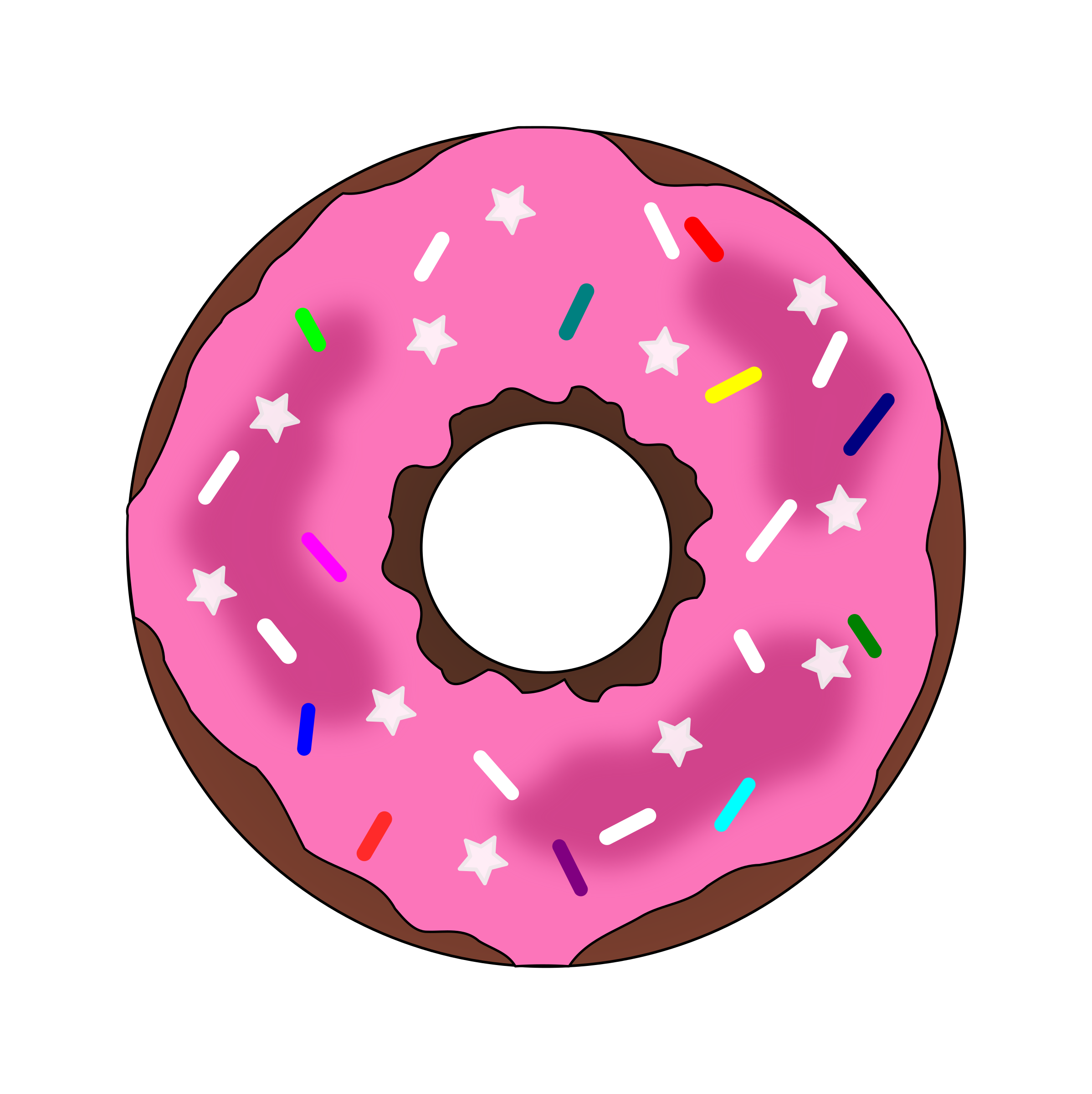 donuts vector art