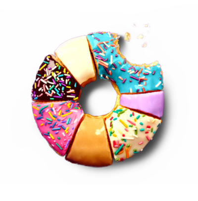 Donut png tumblr. Donuts food and colorful