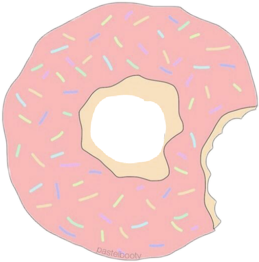 Donut png tumblr. Candy sticker by stickers