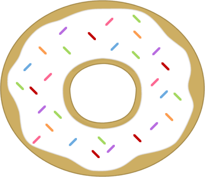 Sprinkles clipart. Free donut cliparts download