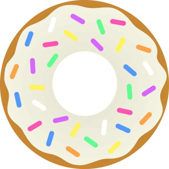 Party clipart donut. Best donuts images