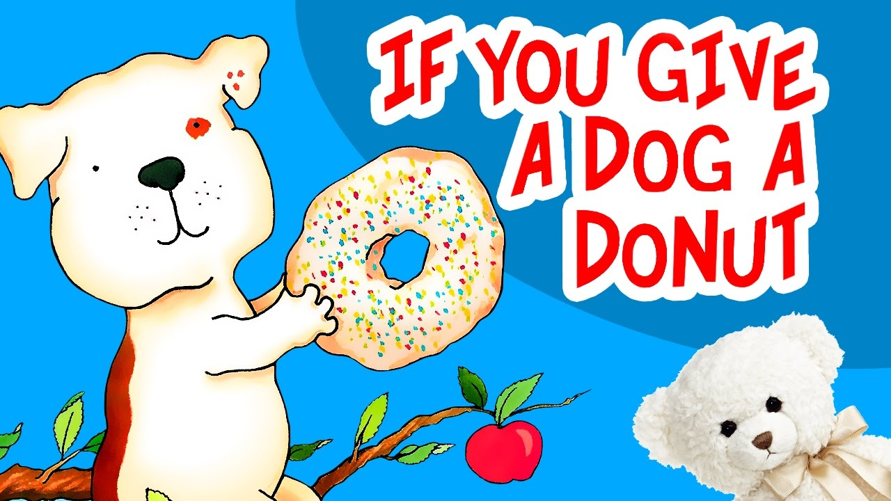 Donuts clipart if you give a dog a donut. By laura numeroff children