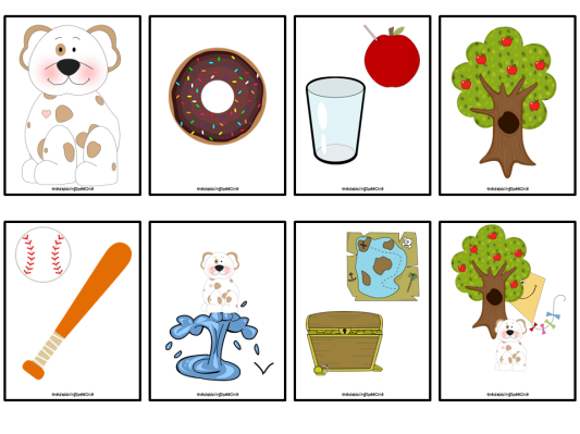Donuts clipart if you give a dog a donut. Activities pre k pages