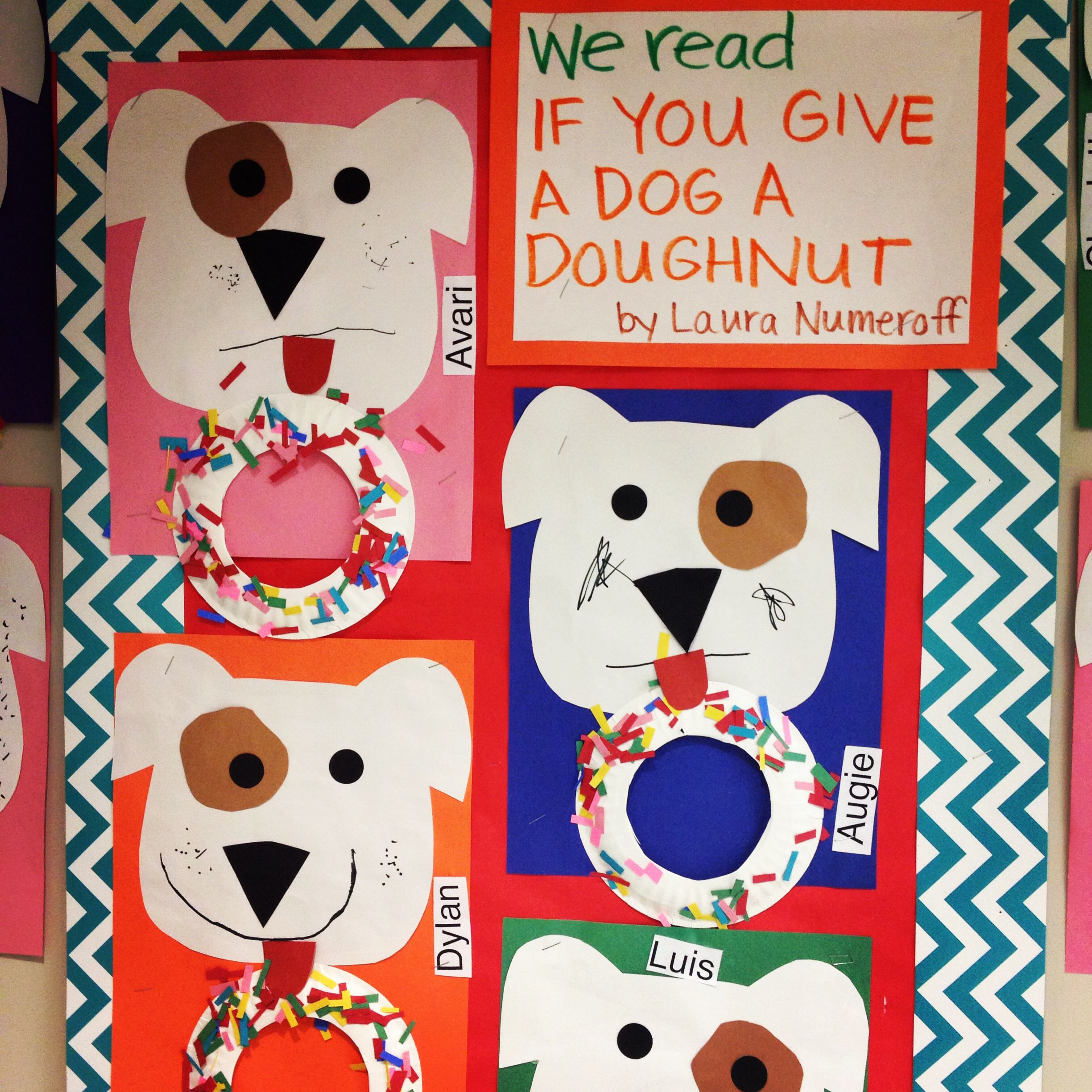 Donuts clipart if you give a dog a donut. Doughnut by laura numeroff