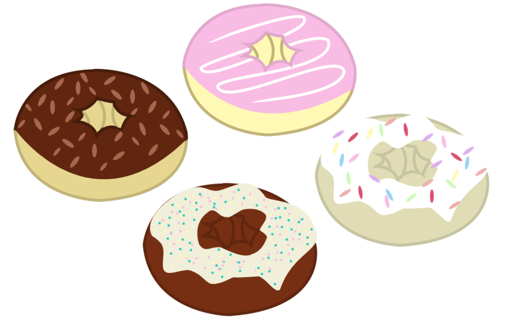 Donuts vector. Mlp resource by frenchyunicorn