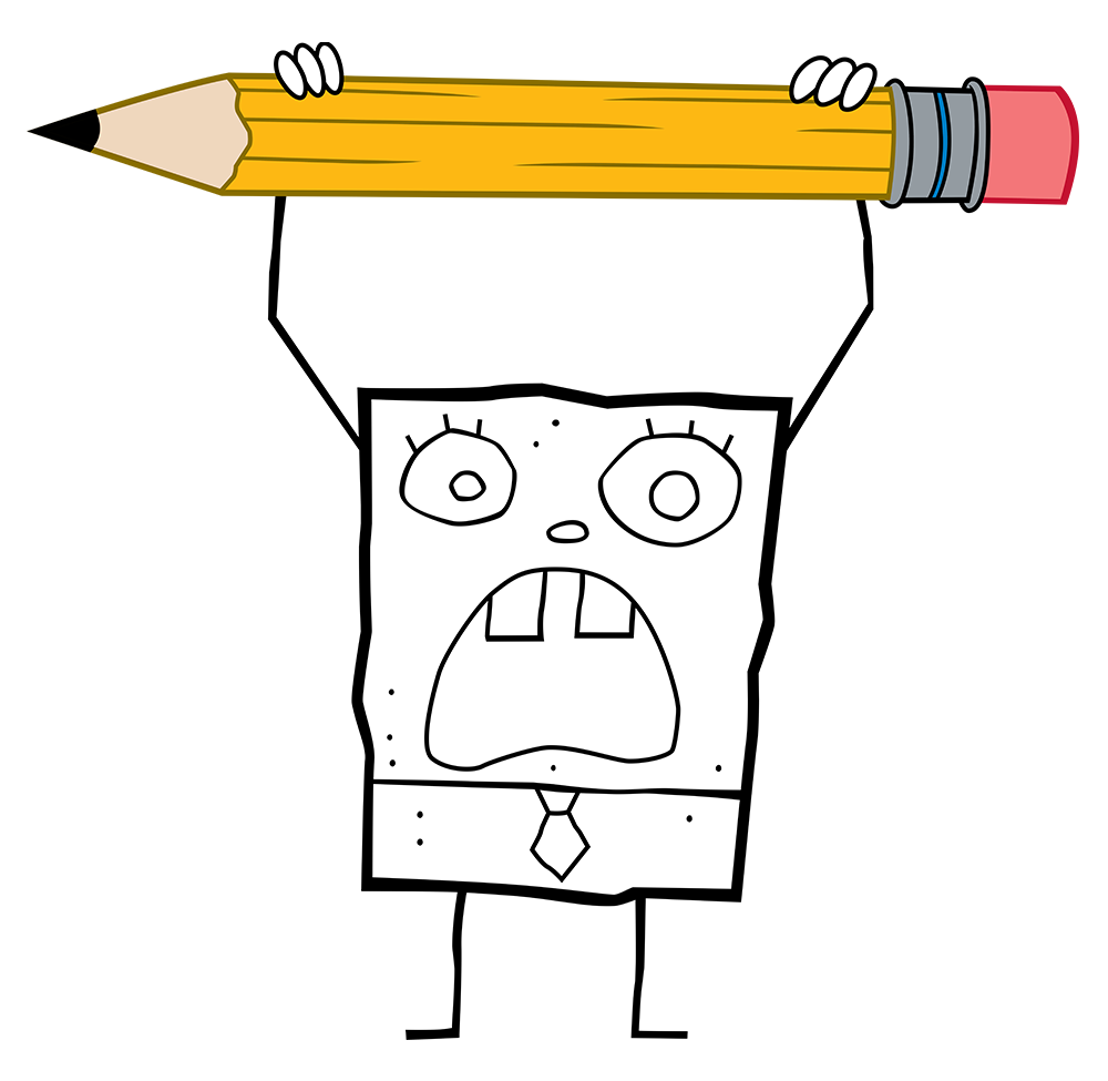 Doodlebob fandom powered by. Nickelodeon drawing clipart free stock