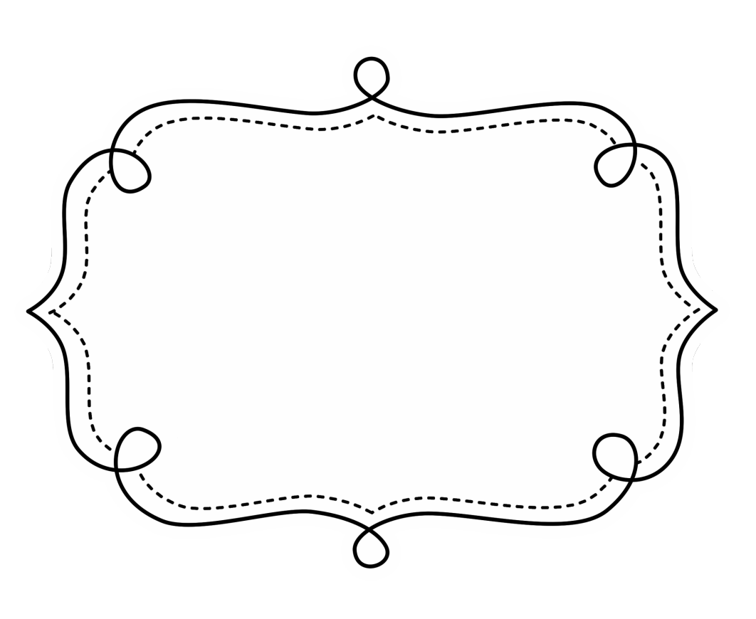 Doodle frame png. Frames pinterest craft and