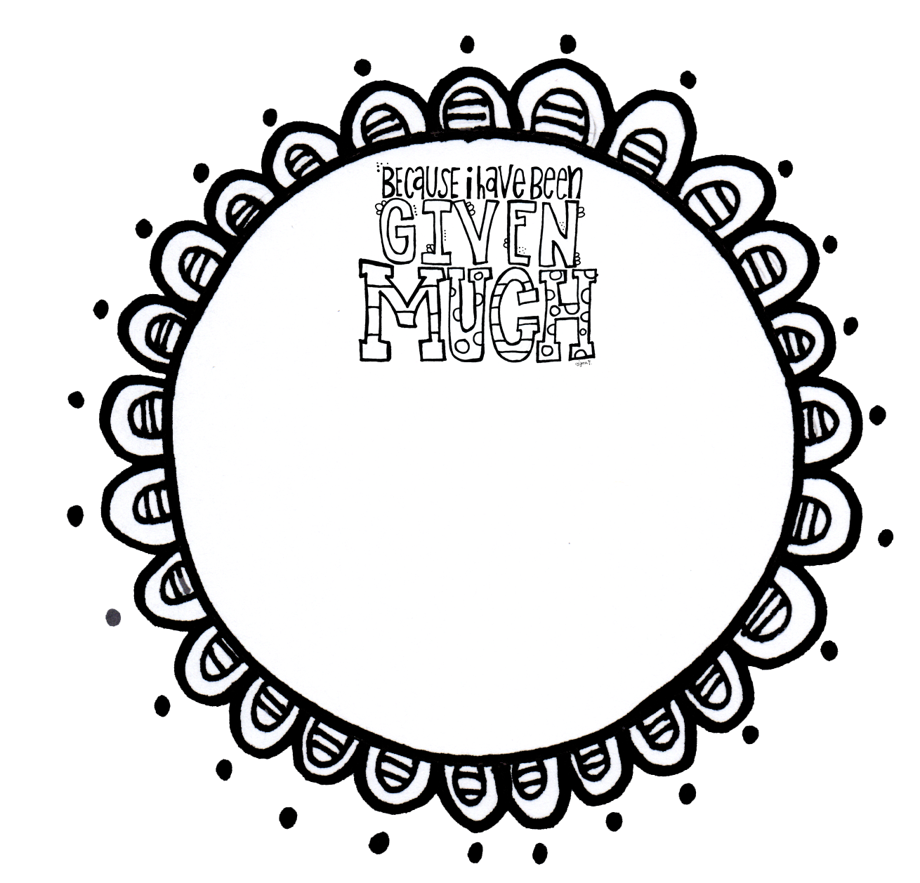 Circle clipart drawn. Free doodle cliparts download