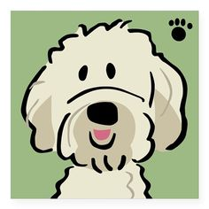 Doodle clipart golden doodle. Goldendoodle cartoon google search