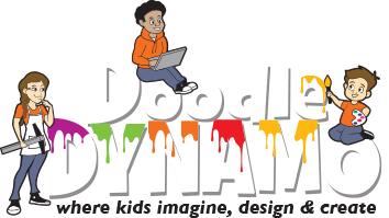 Doodle clipart graphic design. Jr designer dynamo richmond