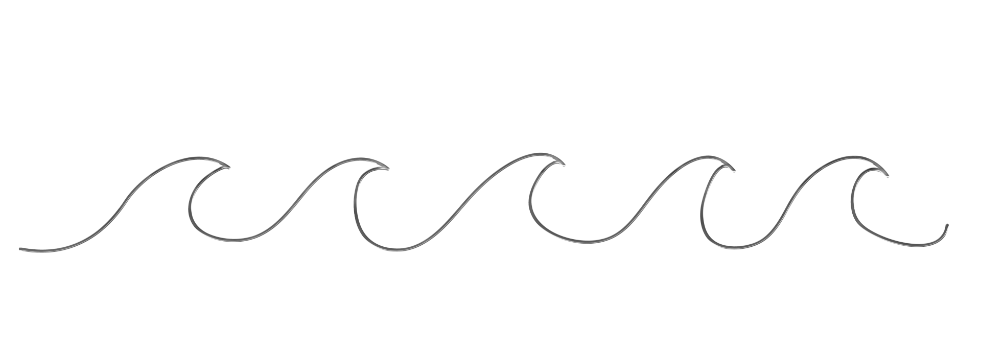 White waves png. Free ocean black cliparts