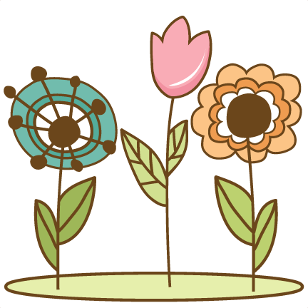 Doodle flower png. Flowers svg cutting files