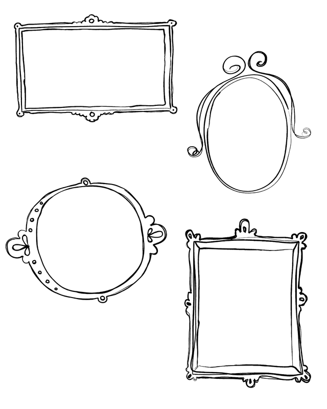 free blog boards. Doodle frame png picture stock