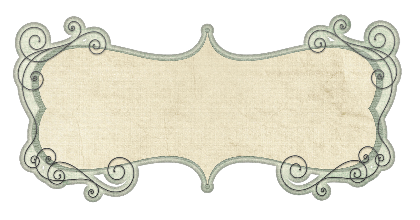 Doodle frame vector png. Free cu border template