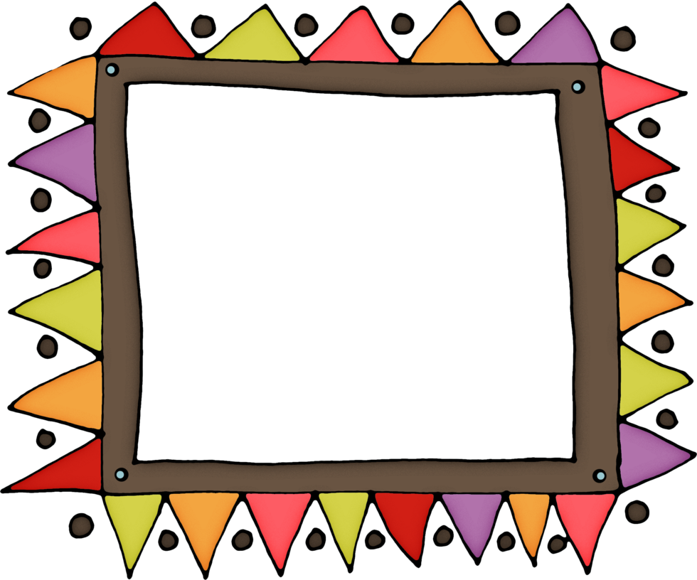 Doodle frames png. Frame by hggraphicdesigns on