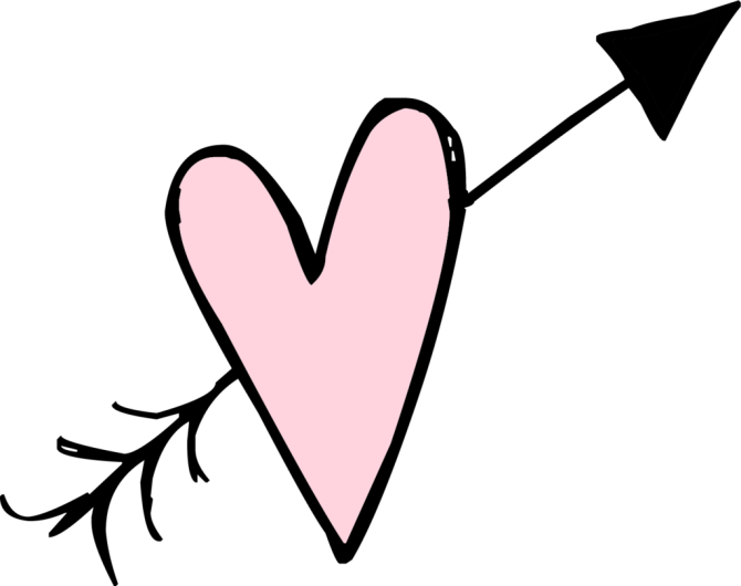 Doodle heart png. Pin by t n