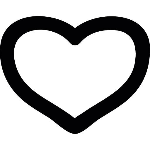 Doodle heart png. Free shapes icons icon