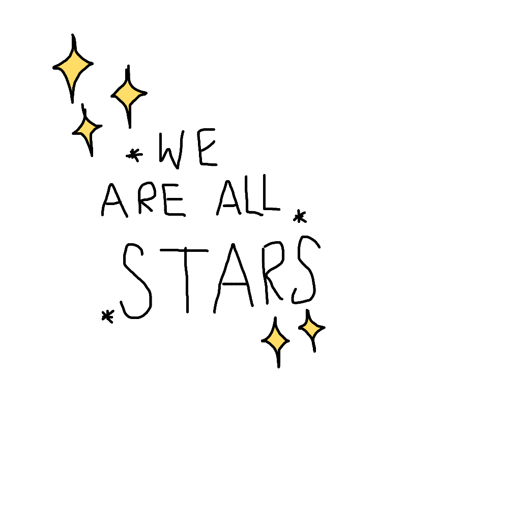 Space doodle png. Stars tumblr drawing special